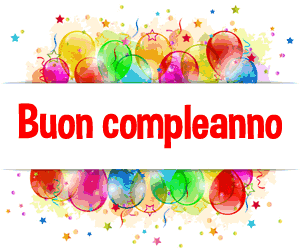Buon Compleanno Auguriit