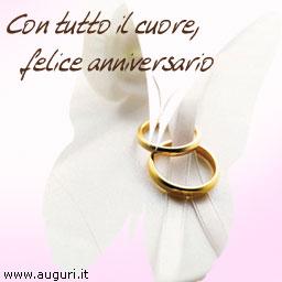 Anniversario Del Matrimonio.Felice Anniversario Di Nozze