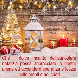 Aria natalizia frasi