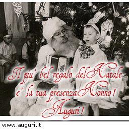 Auguri Di Natale Nonni.Buon Natale Nonno