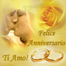 Felice anniversario for Auguri di buon anniversario