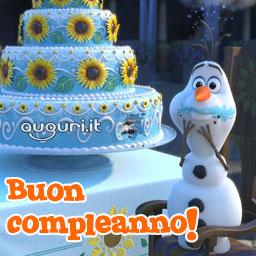 Compleanno Con Olaf Di Frozen