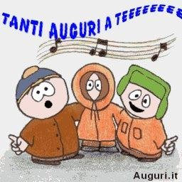 Auguri Coi Personaggi Di South Park
