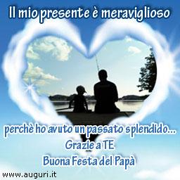 La Vita è Felice Con Lamore Di Un Padre