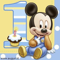 Buon Primo Compleanno